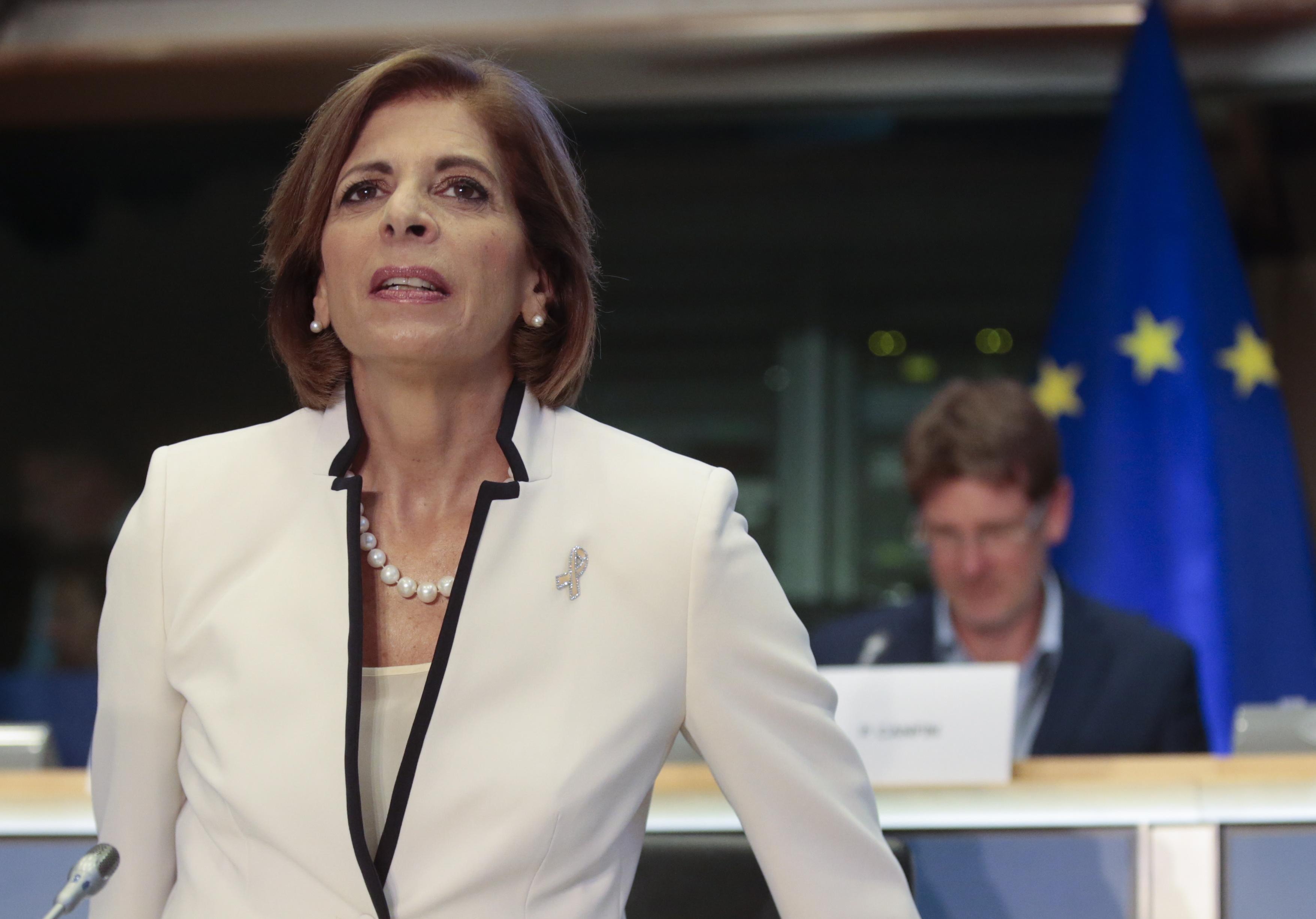 Έπεισε το Ευρωπαϊκό Κοινοβούλιο η υποψήφια Επίτροπος Στέλλα Κυριακίδου