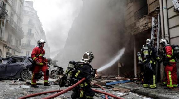 ΠΑΡΙΣΙ: Ισχυρή έκρηξη στο κέντρο με αρκετούς τρ&alpha