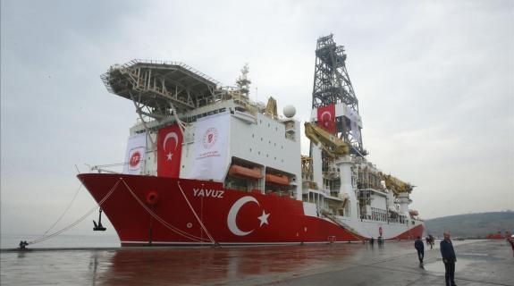 Γενί Σαφάκ: Πλώρη για Καρπασία το τουρκικό γεωτρύπανο Γιαβούζ