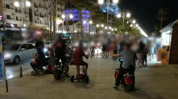 13χρονη παρασύρθηκε από ηλεκτροκίνητο μηχανάκι στις Φοινικούδες (ΦΩΤΟ)