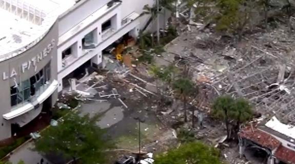 Ισχυρή έκρηξη σε εμπορικό κέντρο της Φλόριντα (ΒΙΝΤΕΟ)