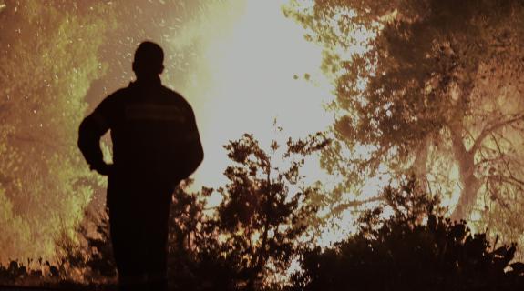 Εύβοια: Συνεχίζονται οι μάχες με τις φλόγες (ΦΩΤΟ)