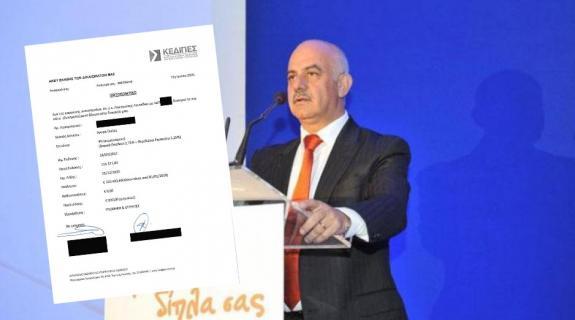 Λάθος μπήκε το όνομα του στη λίστα Γιωρκάτζη λέει ο Λεωνίδου και δίνει έγγραφο
