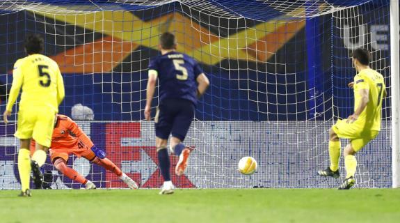 Europa League:Προβάδισμα πρόκρισης στους «4» για Γιουνάιτεντ, Ρόμα και Βιγιαρεάλ