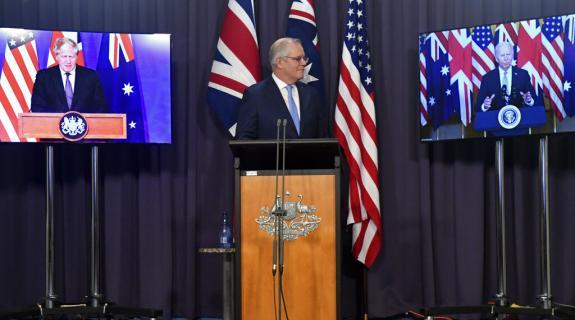 Η κοινή δήλωση ΗΠΑ, Βρετανίας, Αυστραλίας για το Σύμφωνο AUKUS