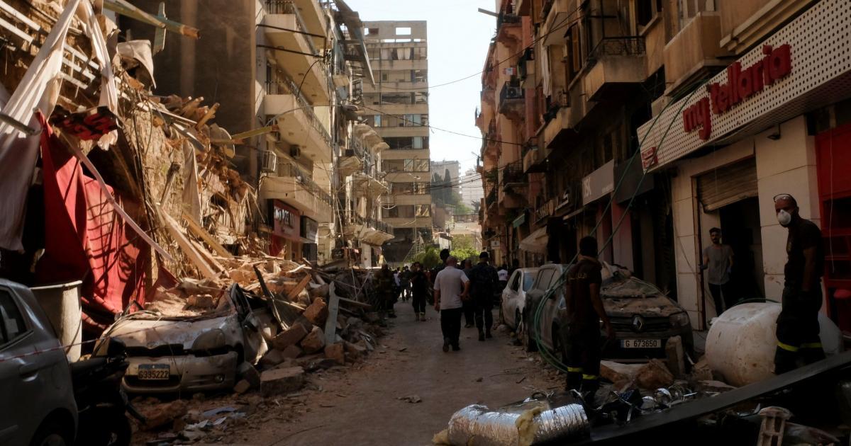 SOS για εξήντα ιστορικά κτίρια της Βηρυτού που κινδυνεύουν με κατάρρευση