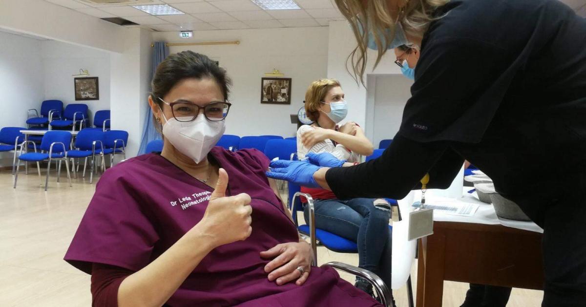 Ευρεία αισιοδοξία – αισιοδοξία μετά τους πρώτους εμβολιασμούς του Macareo