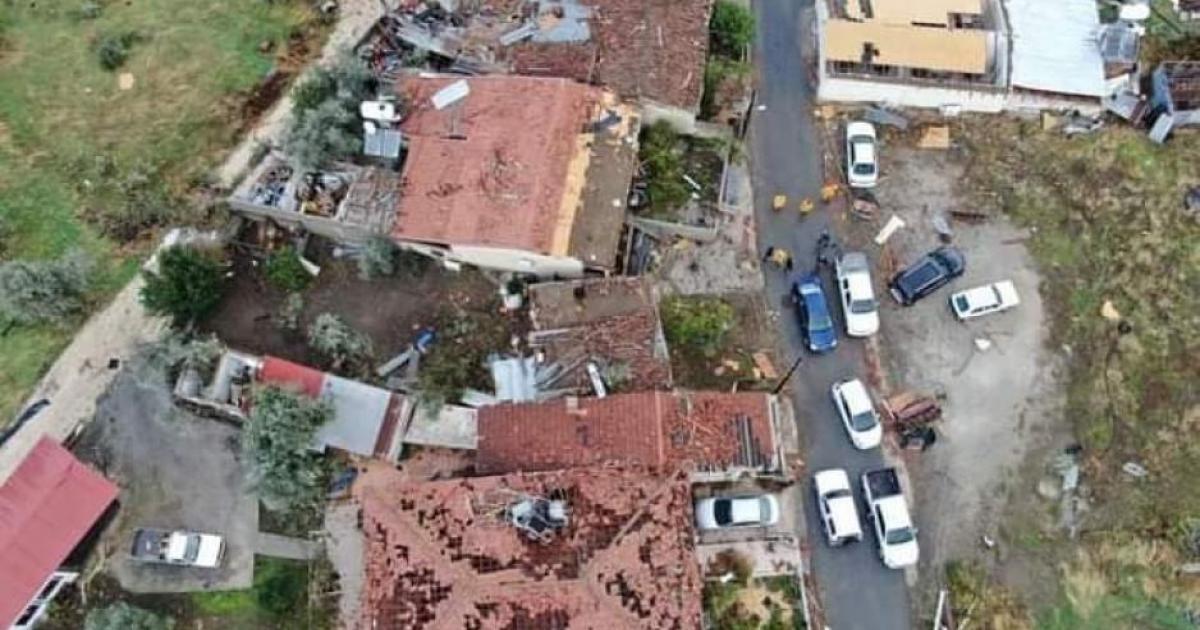 Το Νικητάρι μετατράπηκε σε εργοτάξιο μετά την καταστροφή (VIDEO)