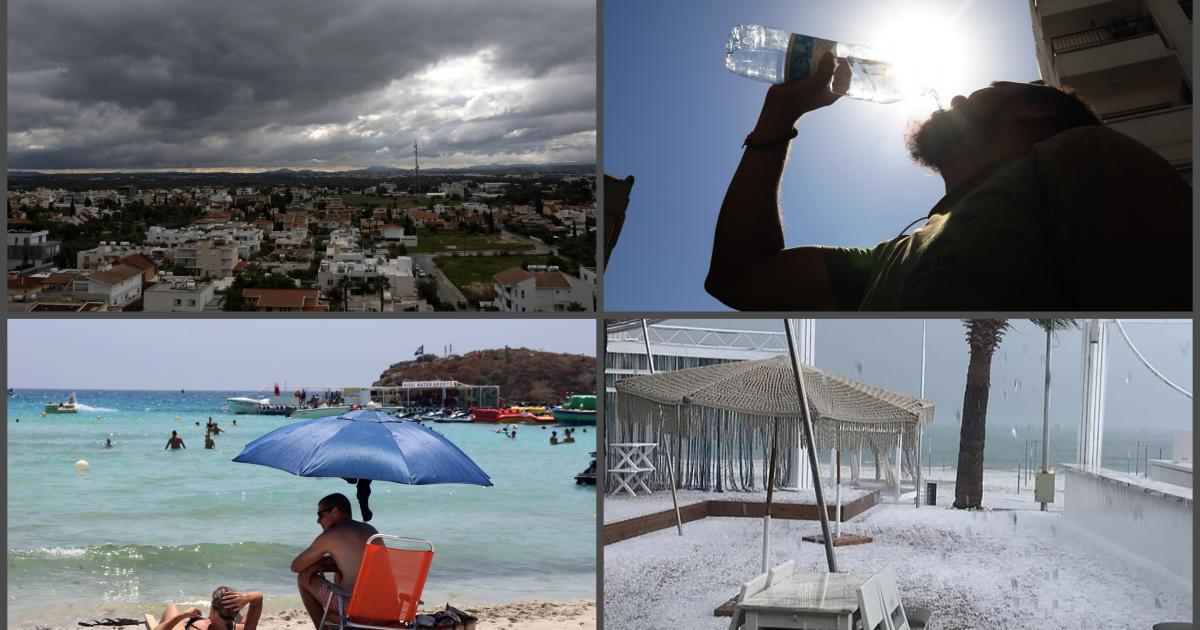 Αυτά είναι τα πιο σημαντικά καιρικά φαινόμενα στην Κύπρο το 2020