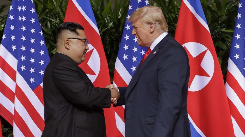 Αποτέλεσμα εικόνας για τραμπ και κιμ