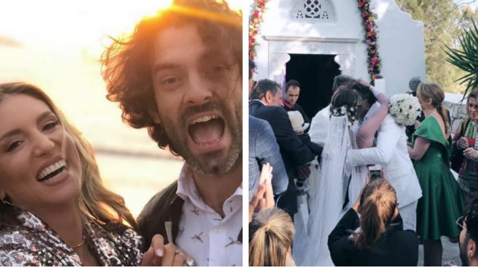 5ffbd7068a05 Αθηνά Οικονομάκου-Φίλιππος Μιχόπουλος  Παντρεύτηκαν για 3η φορά!  (ΒΙΝΤΕΟ ΦΩΤΟ)