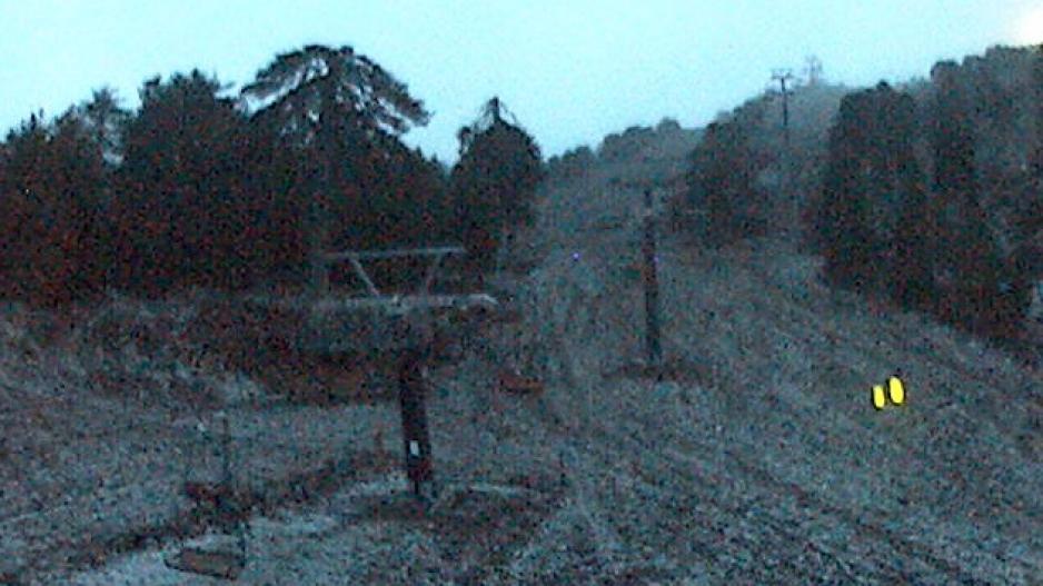 На Кипре сегодня выпал первый снег!: фото 2